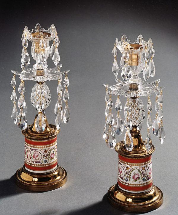 A Pair of George III Lustres