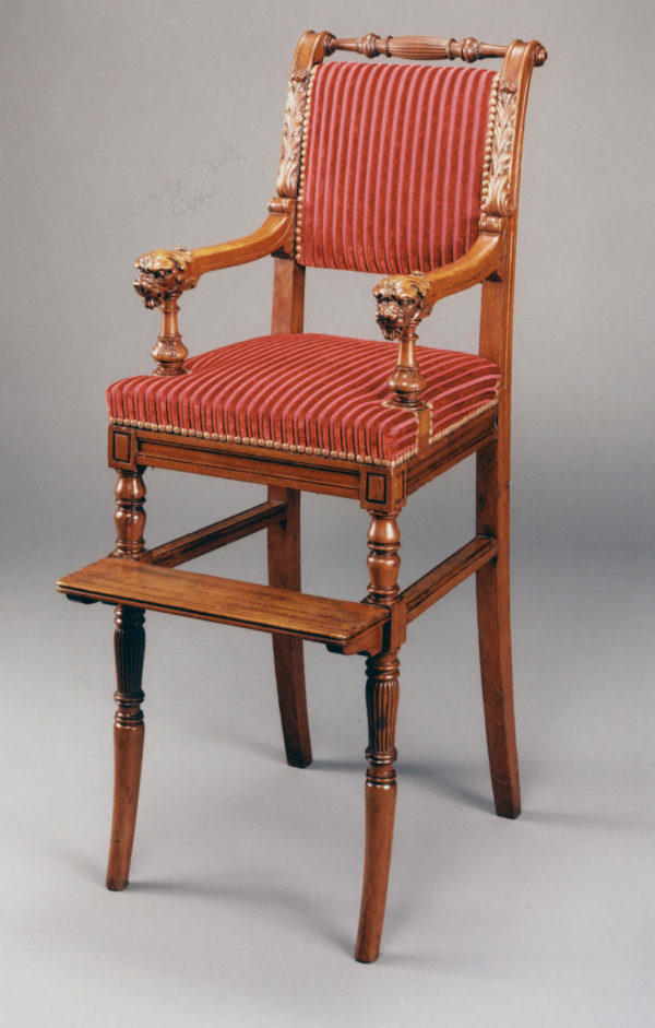 A Mid Nineteenth Century Child's Chair