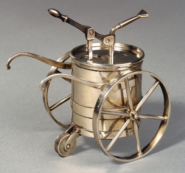A Victorian Silver Novelty Atomiser