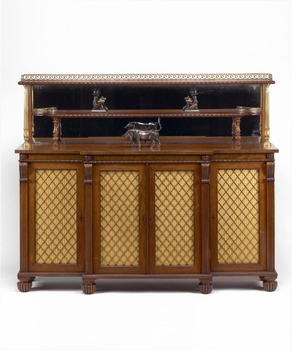 A Regency Rosewood Chiffonier Attributed to George Oakley.