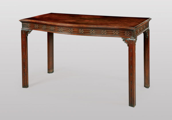 A Chippendale Period Side Table from Ricking Hall, Suffolk
