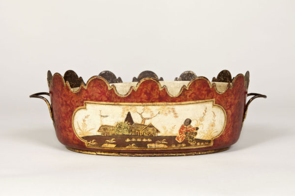 A Nineteenth Century French Tole Planter