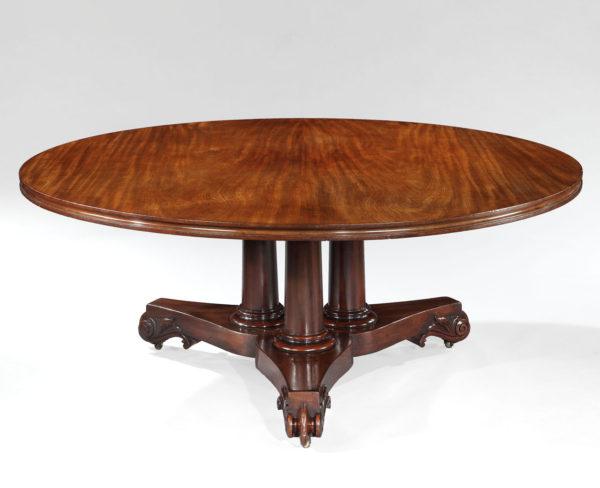A William IV Mahogany Dining Table