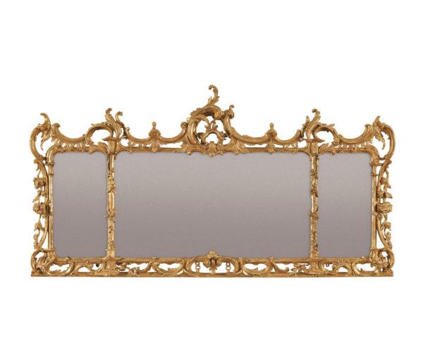 A George III Landscape Mirror